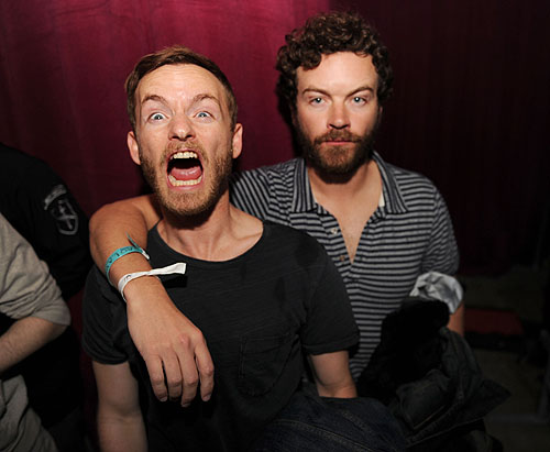 Chistopher and Danny Masterson at Marquee  Stella Artois presents TAO nightclub Sundance