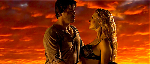 Clare Kramer and Michael Pare in Road To Hell copy